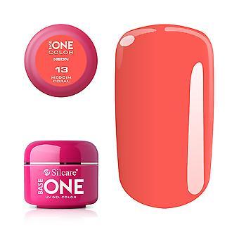 Base one Neon-Medium coral 5 g UV-gel