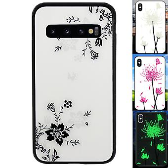 Retour Cover Magic Glass pour Samsung S10 Plus Bloem1