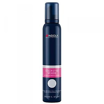 Indola Colour Style Mousse Pearl Grey 200ml