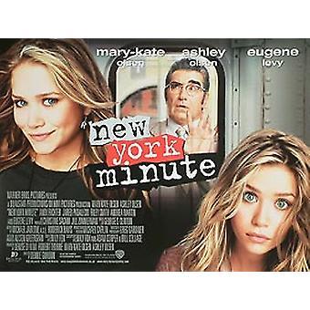 New York Minute Original Cinema Poster