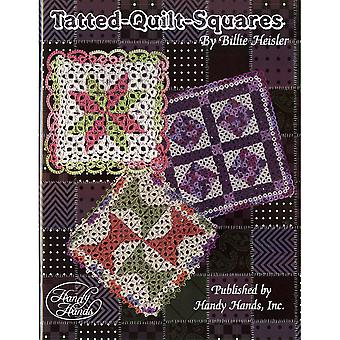 Handy Hands-Tatted Quilt Squares HA-T438