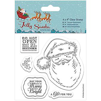 Papermania Jolly Santa Clear Stamps 4