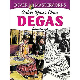 Dover Publications-Dover Masterworks: Degas Paintings DOV-79416