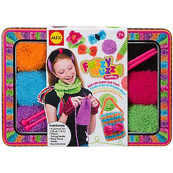 Fuzzy Wuzzy Knitting Kit A187t