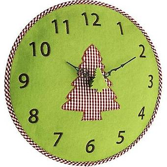 Quartz Wall clock TFA 60.3025.04 330 mm x 40 mm Green