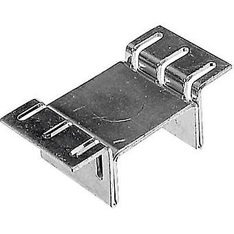 SMD heat sink 23 C/W (L x W x H) 12.7 x 26.2 x 9.9 mm D-PAK, TO 252 ASSMANN WSW V-1100-SMD/A