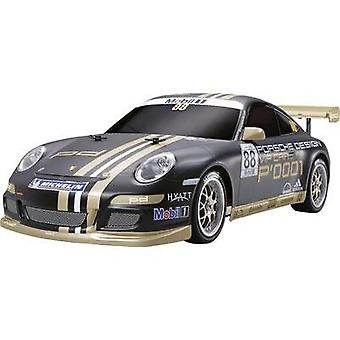 Tamiya Porsche 911 GT3 Cup VIP 2007 Brushed 1:10 RC model car Electric Road version 4WD Kit