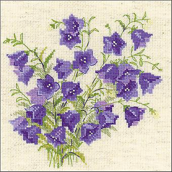 Bellflower geteld Cross Stitch Kit-8