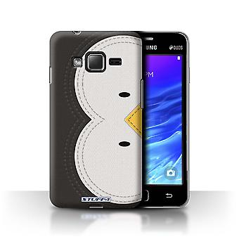 STUFF4 Case/Cover for Samsung Z1/Z130/Penguin/Animal Stitch Effect