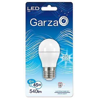 Garza Spherical Led 6W E27 160 540lm 50K (Home , Lighting , Light bulbs and pipes)