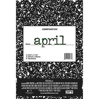 April Movie Poster drucken (27 x 40)
