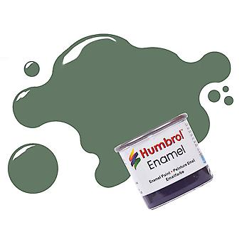 Humbrol Enamel Paint 14ML No 105 Marine Green. - Matt