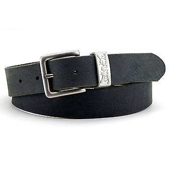 Levi's Two Horse Pull Keeper Belt - Black