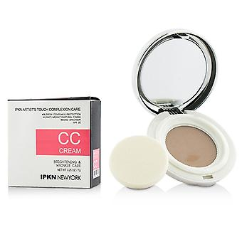 IPKN New York Artists Touch Complexion Care CC Cream (Compact) - #02 Medium 7g/0.25oz