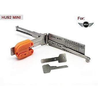 Lishi HU92 V.2 2-in-1 BMW Group auto Open hulpprogramma inclusief sleutels oude Model auto Opener