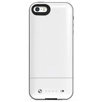 Case White rigid rear cover iphone 5 (Home , Electronics , Telephones , Accessories)