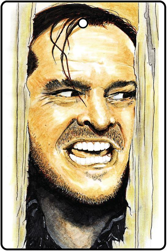 Jack Nicholson Here's Johnny Car Air Freshener