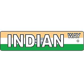 Manera India muestra calle ambientador de aire
