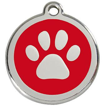Chadog Medal 30mm Red Dingo Dog Leg (Dogs , Walking Accessories , Accessories)