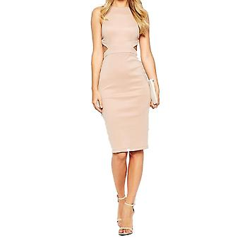 Ex Asos Cut Out Bodycon Midi Dress