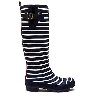 Joules Printfns Welly Print  French Navy