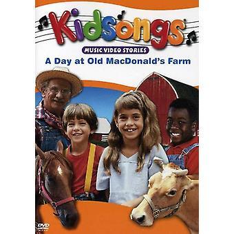 Kidsongs - dag på Old Macdonald Farm [DVD] USA importerer
