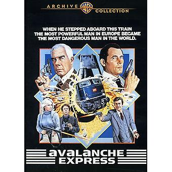 Avalanche Express [DVD] USA import