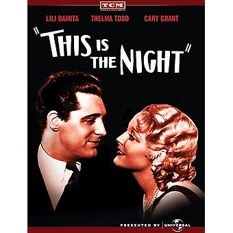 This Is the Night [DVD] USA import