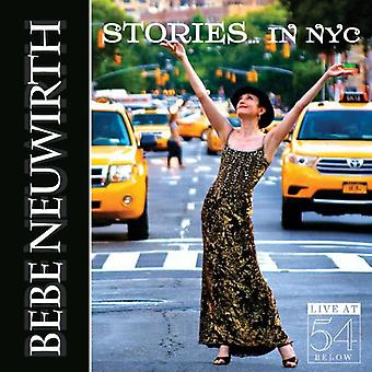 Bebe Neuwirth - Stories in Nyc: Live at 54 Below [CD] USA import