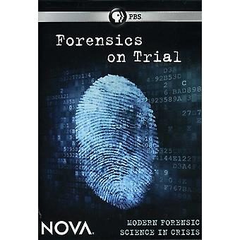 Nova - Nova: Forensics on Trial [DVD] USA import