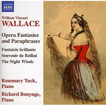 William Vincent Wallace - Wallace: Fantasías de ópera y paráfrasis [CD] USA importación