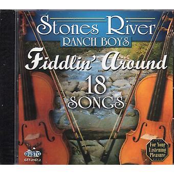 Río Piedras Rancho Boys - importación de Estados Unidos Fiddlin alrededor de 18 canciones [CD]