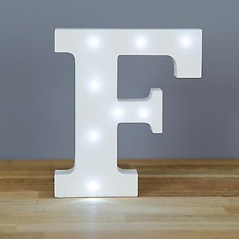 LED letter - Yesbox lights letter F