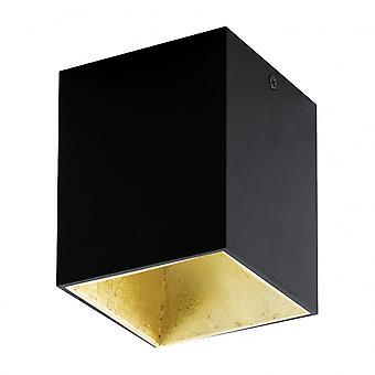 Downlight de LED superficie Eglo POLASSO oro negro