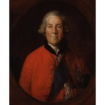 Thomas Gainsborough - John Russell 4th Duke Poster Print Giclee