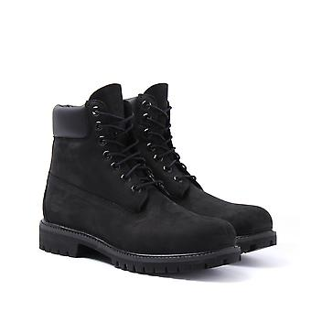 Timberland Icon Black 6-Inch Premium Wide Fit Boots