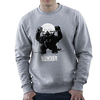Bowser Unchained Super Mario Bros mænds Sweatshirt