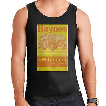Haynes Workshop Manual Volkswagen Camper 1972 Stripe Men's Vest