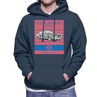 Haynes Workshop Manual 0108 Vauxhall Victor VX4 90 Stripe Men's Hooded Sweatshirt