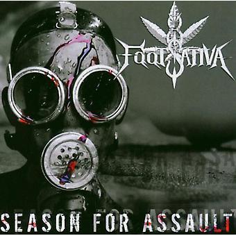 8 fods Sativa - sæson for overfald [CD] USA import