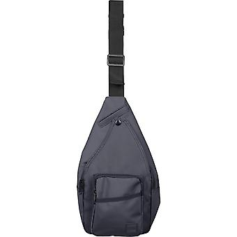 Urban classics - multi Pocket shoulder bag black