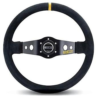 Sparco Steering Wheel - Competition - R215 015R215CSN 350mm Suede Black Fits:UN