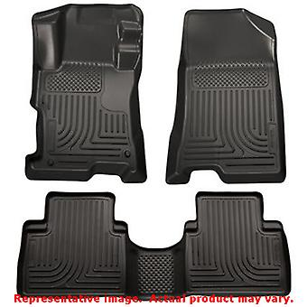 Husky Liners 98811 Black WeatherBeater Front & 2nd Seat FITS:KIA 2011 - 2013 SO