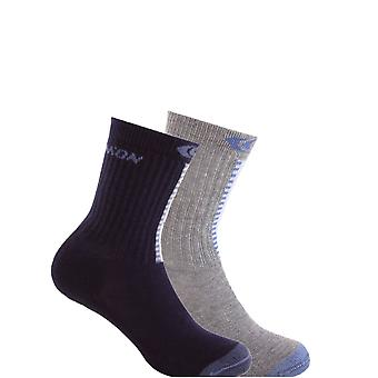 Salomon Childrens/Kids Sal Xpert Outdoor Socks (Pack of 2)
