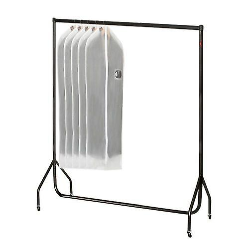 5ft Black Heavy Duty Clothes Rail  W 152 H 155 D 50cms by Caraselle