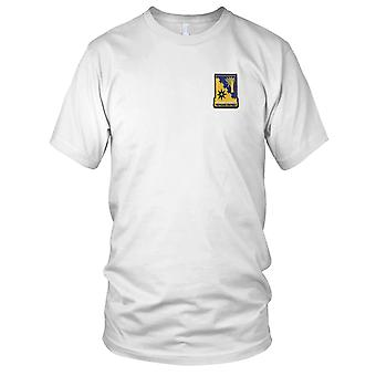 US Army - 114th Cavalry Regiment Embroidered Patch - Kids T Shirt