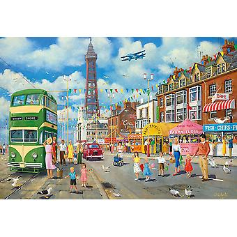 Gibsons Blackpool Promenade Jigsaw Puzzle (500 pezzi)