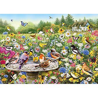 Gibsons de Secret Garden Jigsaw puzzel (1000 stuks)