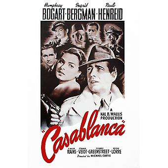 Casablanca (Style A) Poster Print (24 x 36)