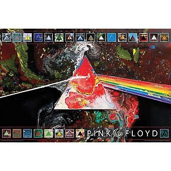 Pink Floyd - Dark Side 40 plakatutskrift plakat